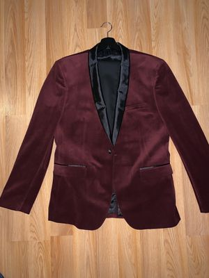 Red Velvet Suit Jacket for Sale in Germantown, MD