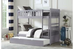 Orion Gray Twin/Twin Bunk Bed | B2063 for Sale in Columbia, MD