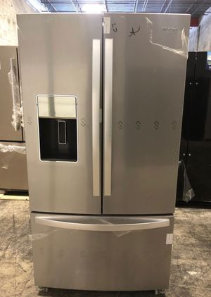Whirlpool 27cu. ft. French Door Refrigerator take home only $40 down EZ financing for Sale in Miami, FL