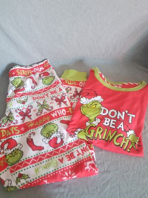 Grinch Pijama Set for women Medium Size for Sale in Moreno Valley, CA