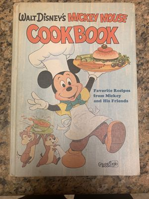 Walt Disney's Mickey Mouse Cookbook-Collectible for Sale in Las Vegas, NV