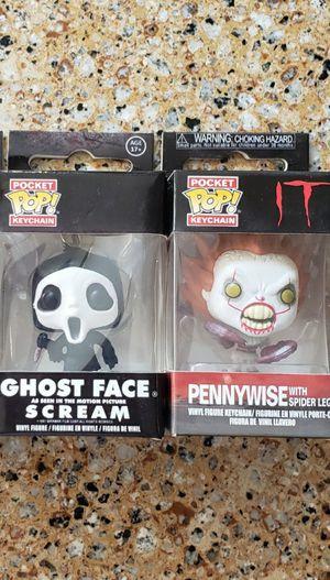 Halloween horror funko pop keychain package for Sale in Covina, CA