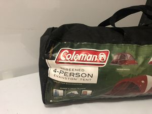 Coleman 4 person tent for Sale in Springfield, VA