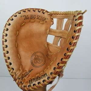 Wilson The Big Scoop Left Hand Throw Softball Glove A9886 14 Inch LHT Cowhide. $68 for Sale in Seattle, WA