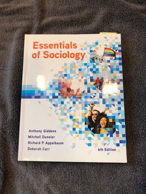 Essentials of Sociology 6th Edition for Sale in Winsted, CT