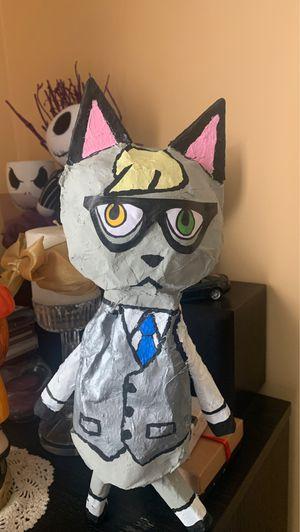 """""""Animal Crossing"""" Paper Mache Raymond figure for Sale in Montebello, CA"""