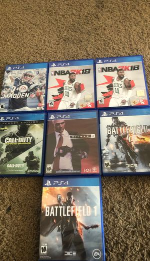 Ps4 games for Sale in Salem, OR