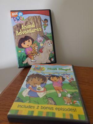 Dora & Diego DVD'S $10 for Sale in Blythewood, SC