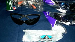 Lot of 6 assorted safety glasses tinted clear for Sale in Alton, ME