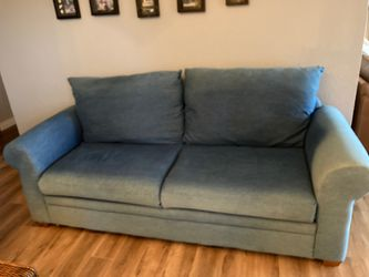 Denim couch for Sale in Gig Harbor,  WA