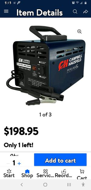 Campbell stick welder brandnew will take best offer for Sale in Maryville, TN