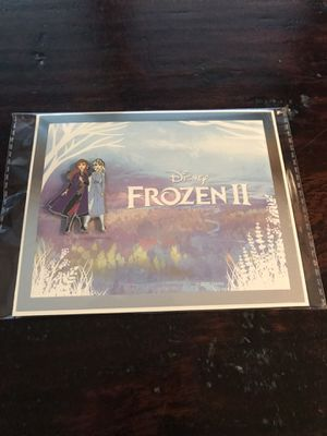 New Disney 's Frozen 2 DMC Limited Edition Pin & Certificate for Sale in Cypress, TX