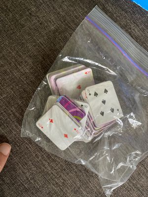 Mini Chuck-E-Cheese Playing Cards - 2 full-sized decks for Sale in Ithaca, NY