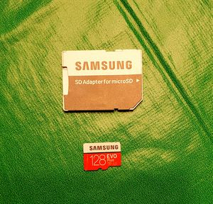 128 GB Samsung micro SD card for Sale in Cedar Park, TX