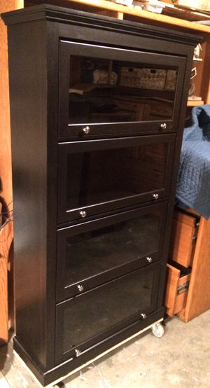 Modern 4 Tier Barrister Bookcase / Display / Storage Shelves for Sale in Lakeville, MN