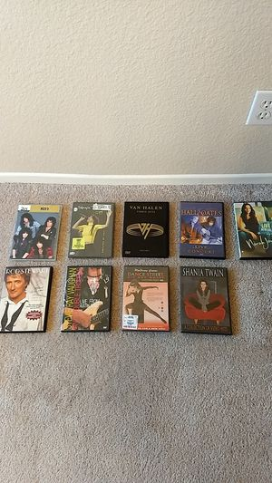 9 Live Music DVD's for Sale in Fontana, CA