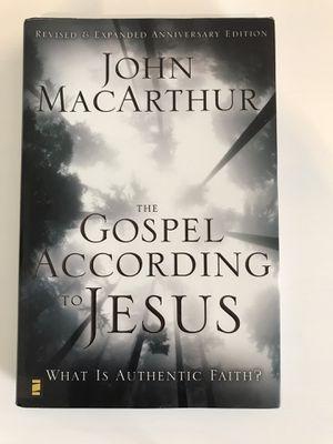 The Gospel According to Jesus by John MacArthur for Sale in Menifee, CA