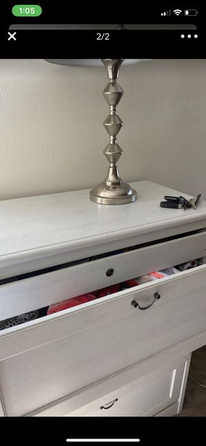 Big white dresser needs minor fixes for Sale in San Diego, CA