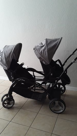 Baby trend double stroller sit n stand for Sale in Orlando, FL
