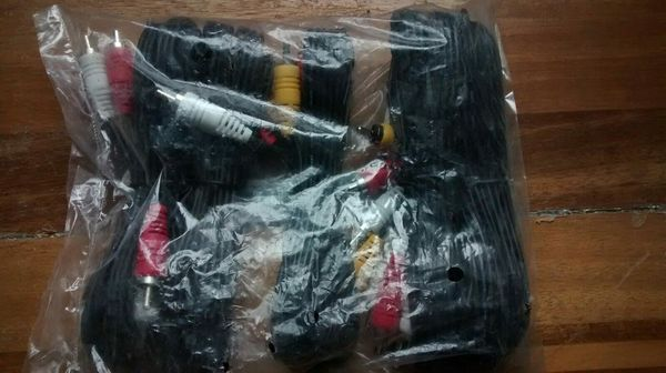BRAND NEW DTV Composite Cable 5-Pack