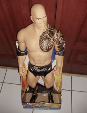 WWE The Rock 31 Inch Giant Size Action Figure 9 Points of Articulation for Sale in Anaheim, CA