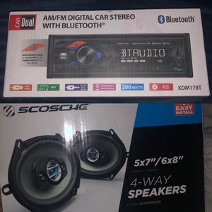 stereo and speakers for Sale in Moreno Valley, CA