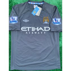 2010/11 Manchester City retro away soccer jersey for Sale in Raleigh,  NC