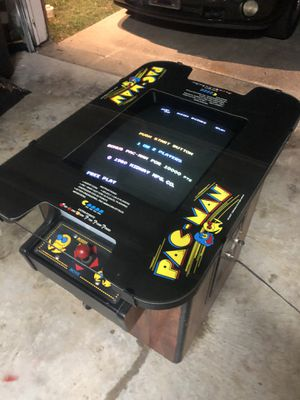 OG Pac-Man cocktail table arcade game for Sale in Pearland, TX