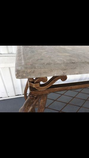 •••BEVELED MARBLE TOP TABLE -ENTRANCE WAY/BUFFET/BAR••• for Sale in Casselberry, FL