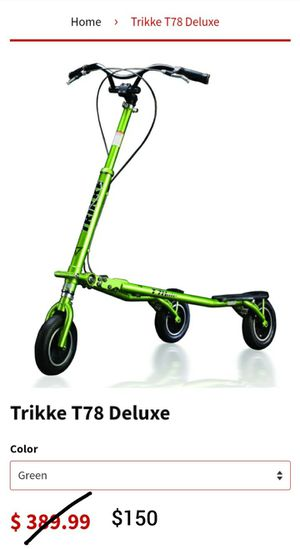 Trikke bike for Sale in Woodbridge, VA