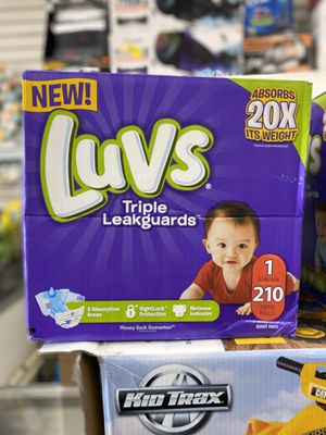 Luvs Size 1 Diapers Size 1 210 count NEW for Sale in Los Angeles, CA