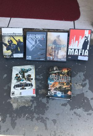 Pc games for Sale in San Jose, CA