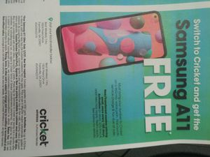 10 FREE PHONES CRICKET WIRELESS FARMVILLE VA for Sale in Farmville, VA