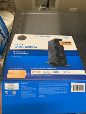 New Cable modem for Sale in Fort Worth, TX