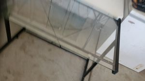 Glass top computer desk for Sale in Banning, CA