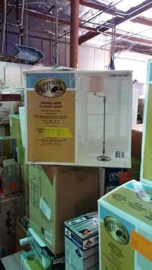 Hampton Bay swing arm floor lamp for Sale in Phoenix, AZ