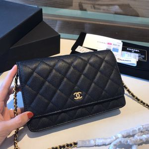 Chanel woc leather bag (black) for Sale in Seattle, WA