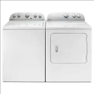 Whirlpool High Efficiency Top-Load with Dual Action Spiral Agitator Washer & Gas Dryer Set for Sale in Los Angeles, CA