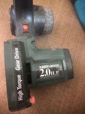 Black n decker lawn edger 2hp for Sale in NEW CARROLLTN, MD