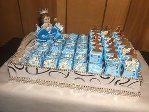 Baby souvenir decorated tray boy/girl for Sale in Manassas, VA
