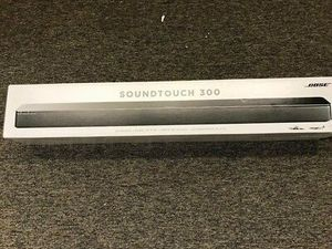 Bose SoundTouch 300 Soundbar, Black Brand New in the Box for Sale in Pembroke Pines, FL