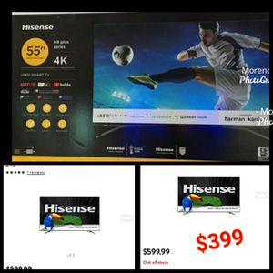 "HISENSE 58 INCH SMART TV Hisense H9-Series 55""-Class HDR UHD Smart ULED TV for Sale in Anaheim, CA"