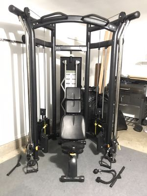 Functional trainer with bench for Sale in Tulsa, OK