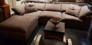 Restoration hardware cloud sectional for Sale in West Hollywood, CA