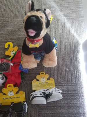 Build a bear with clothes and shoes for Sale in Los Angeles, CA
