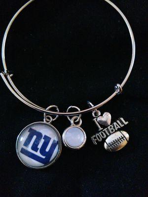 New York Giants wire charm bracelet for Sale in Nashville, TN