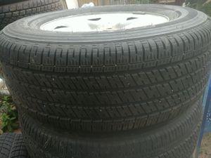 Bridgestone truck and tires. 5 lug 275/65/R18 for Sale in Denver, CO