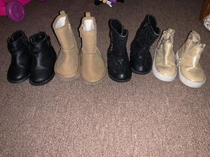 Toddler girl boots for Sale in El Centro, CA