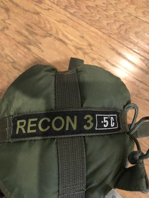 Recon 3 military sleeping bag for Sale in Fontana, CA