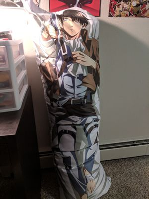 Attack on Titan Body Pillow for Sale in Denver, CO